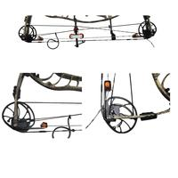 Universal Stainless Steel Outdoor Hunting Archery Bow Press And Quad Limb L Brackets For Compound Bow