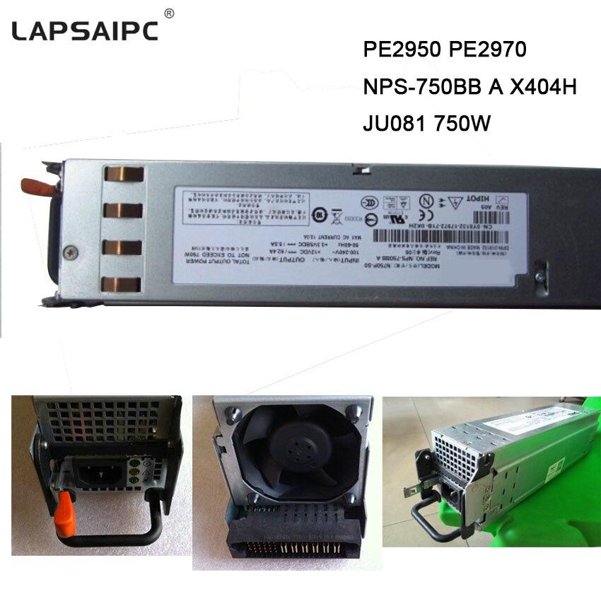 PE2950 alimentation minière PE2970 NPS-750BB A X404H JU081 mineur PSU 750 W alimentation à découpage adaptateur secteur