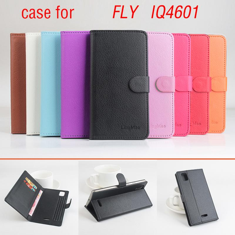 Phone case for FLY IQ4601 About Flip Cover Mobile Phone Bags. Brand Hot Sale Factory price.