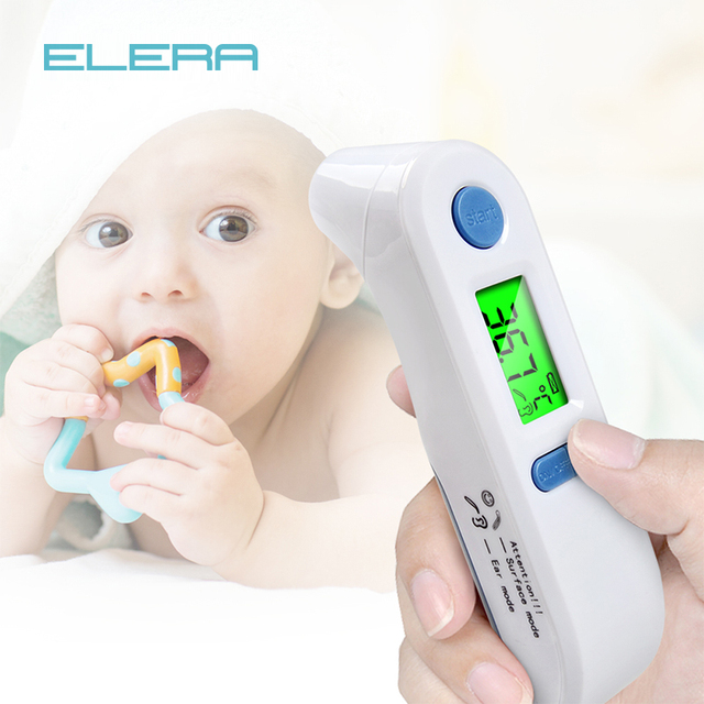 ELERA Thermometer Digital Fever Body Care Temperature Infrared Ear Forehead Thermometer Baby & Adult