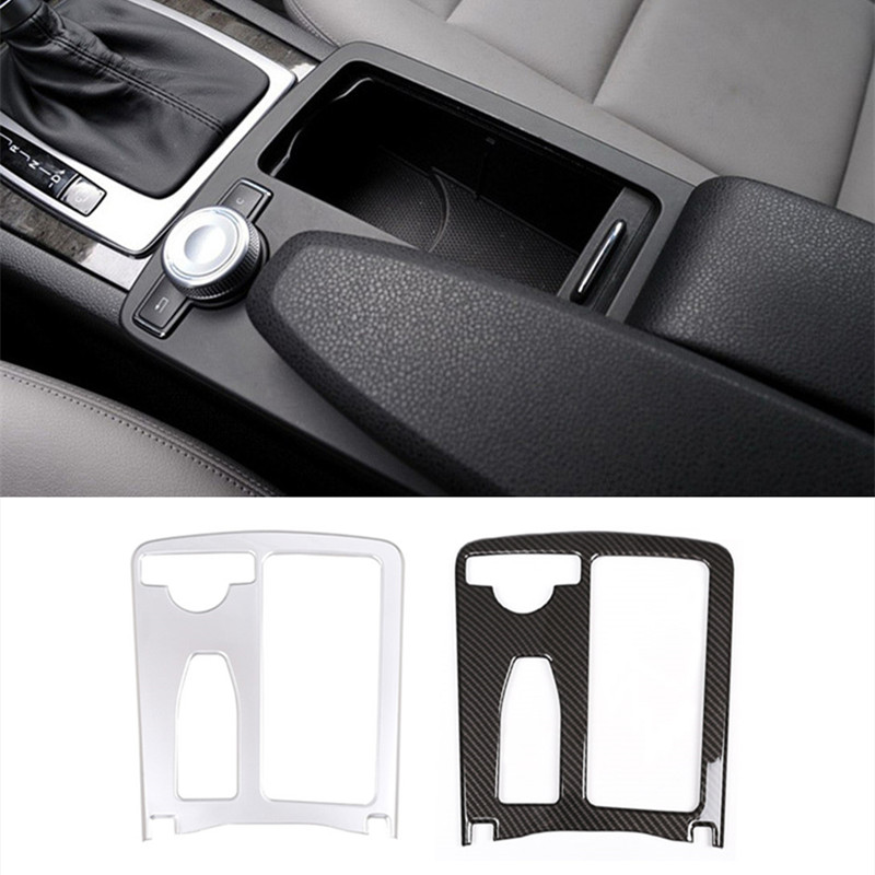 ABS Center Console Water Cup Holder Frame Cover Trim For Mercedes Benz C class W204 08-14 E Class W212 10-11 E Coupe 10-12 LHD