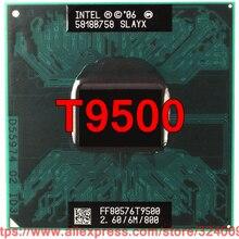 Процессор lntel Core 2 Duo T9500(6 Мб кэш-памяти, 2,60 ГГц, 800 МГц, 2 ядра) процессор для ноутбука