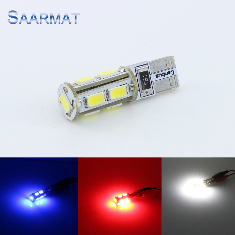 SAARMAT Car LEDBulbHeadlight Store 2 x Canbus No Error T10 W5W 194 168 Clearance Parking Lights Marker Lamps LED Bulb   FOR AUDI  VW  BMW  Etc