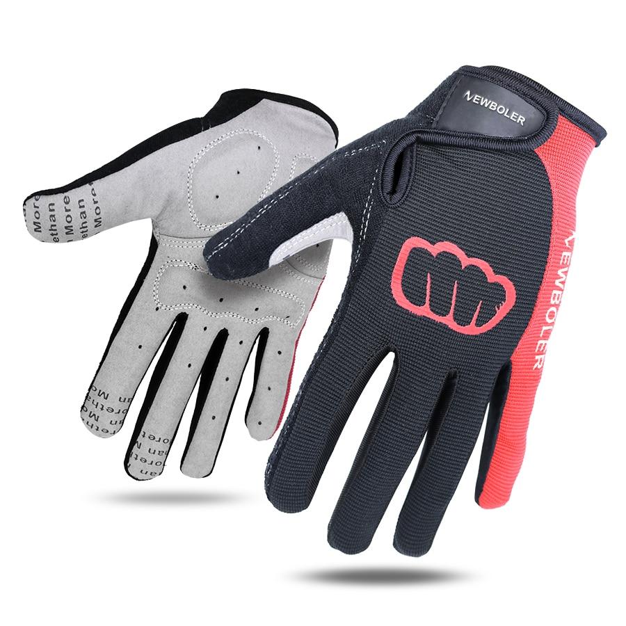 1 Pair Women Men Cycling Gloves Full Finger Bicycle Gloves Anti Slip Gel Pad