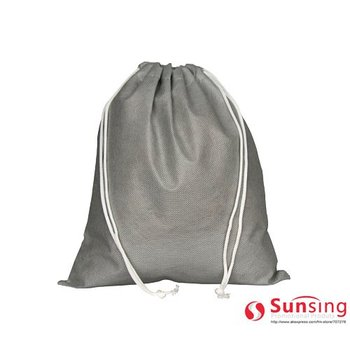 [Free logo]non woven double rope promotional strong convenient bag with big capacity wholesale 500pcs/lot