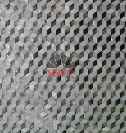 Freshwatersea Shell Mosaic Tiles Seamless Join Natural Color Art - Art deco mosaic tile patterns