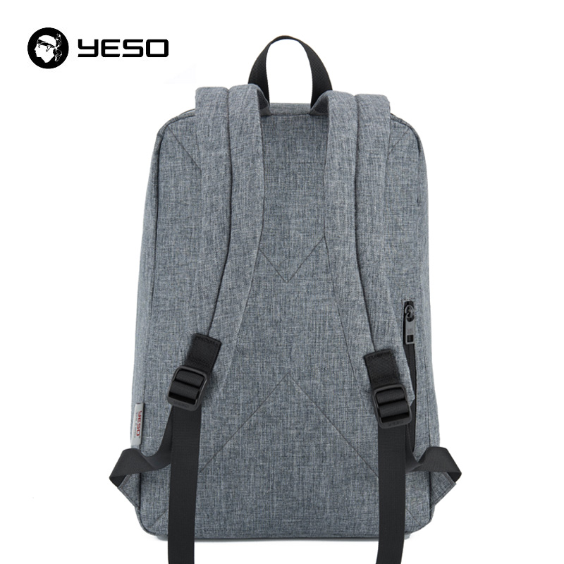 YESO Men's Expandable Backpack 15.6 Inch Laptop Backpack for Women And Men School Backpacks Unisex Leisure Bag