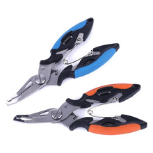 Multi-function Braid Line Lure Fishing Pliers Cutter Hook Remover  Tool Cutting Fish Use Tongs Scissors Fish Tackle цена