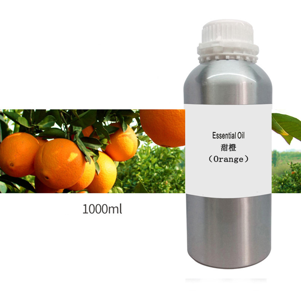 1000ml Top Quality Orange Fragrance Aromatherapy Essential Oil For Diffuser Humidifier Spa Add Fragrance