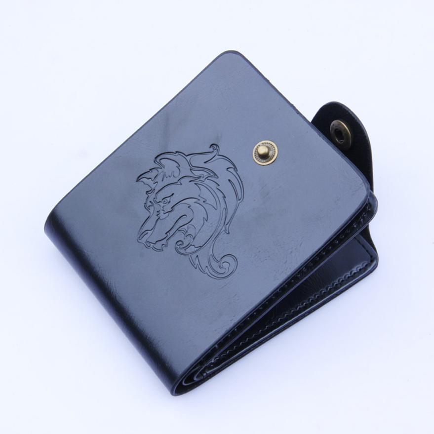 Wallet Men PU Leather Wallets Male PUrse Money Credit CardHolder Case Coin Pocket Designer Money Billfold Maschio Clutch May28