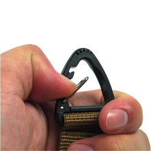 Novel Climb Accessory Carabiner High Strength Nylon Tactical Backpack Key Hook Webbing Buckle Hanging System Belt Buckle Hanging