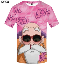 цена KYKU Brand Dragon Ball T Shirt Funny T Shirts Men Funny Japanese Mens Clothes T-shirt 3d Homme Casual Hip Hop 2017  Printed Tee в интернет-магазинах