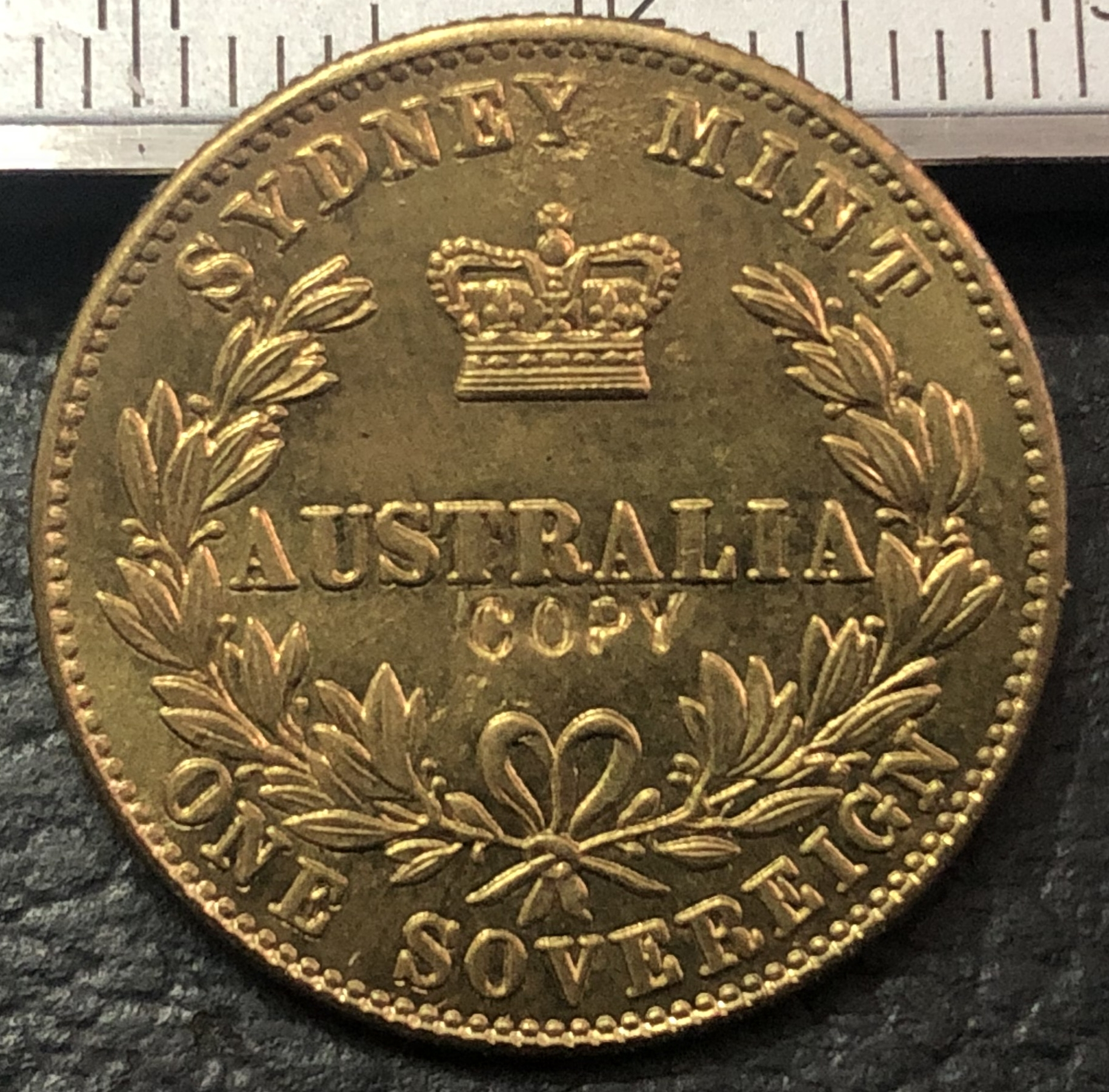 SCARCE 1975 50 cent proof coin Only 23,021 made Brilliant coin in 2x2 holder.
