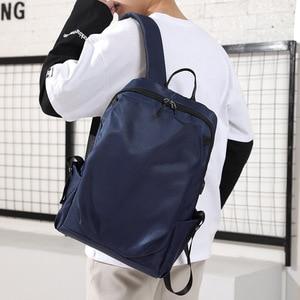 Image 4 - 15.6 inch USB Charging Laptop Backpacks Notebook Case For Macbook Air Pro 11 12 13 15 Xiaomi Lenovo Men Travel Laptop Bag