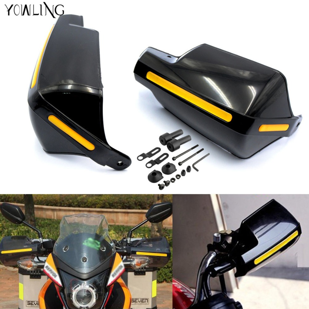 Motorcycle Handlebar Hand Guards Handguard Wind Protector Protection For Kawasaki z800 z1000 Yamaha TMAX500 530 KTM DUKE 250 390 for ktm 390 duke motorcycle leather pillon passenger rear seat black color