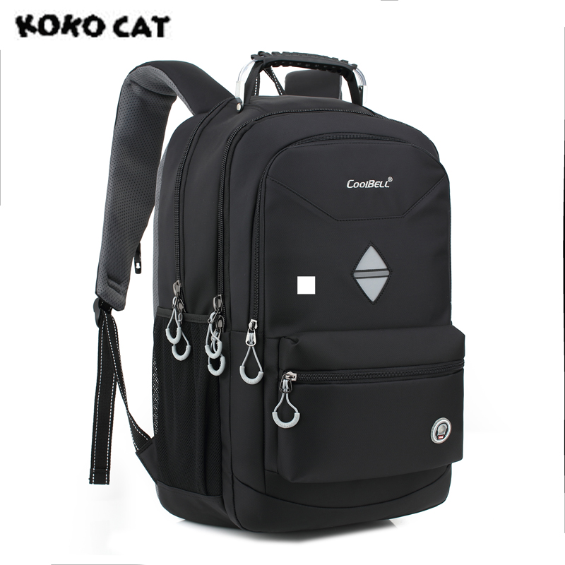 High Quality 2017 KOKOCAT New Fashion Men Shockproof High Capacity Laptop Bag Men 18 Inch Backpack  School Backpack for Women 2017 summer high capacity chest bag for men