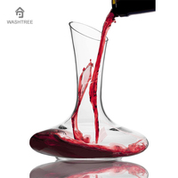 1PC Premium Lead Free Crystal Wine Glass Decanter Carafe By Bar Brat Unique Tumbler Glass Water
