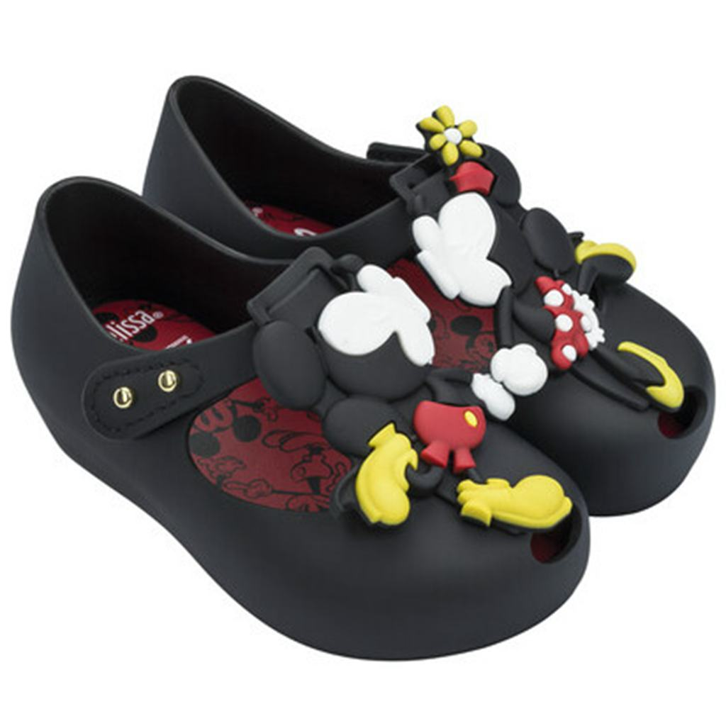 Melissa 2018 New Summer Mini Twins Mouse Animal Pattern Shoes Jelly Shoe Sandals Girl No ...