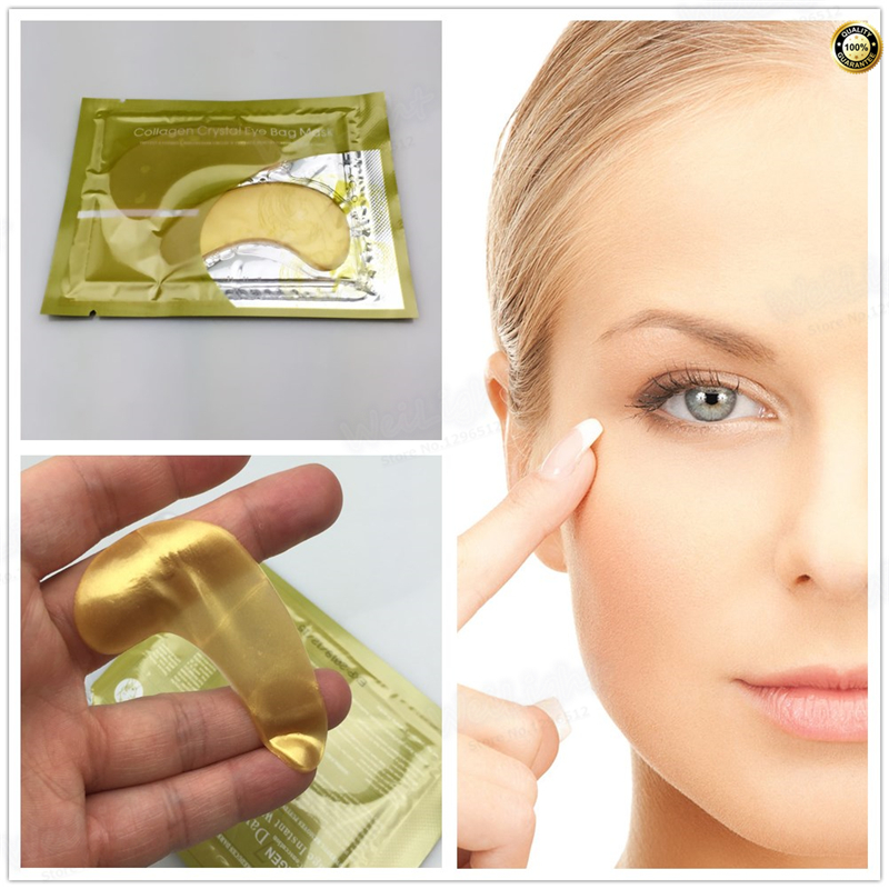 Honey Collagen Crystal Eye Mask Moisturizing Anti Ageing Anti Wrinkle Anti-Puffiness Collagen Eye Mask Brighten Eyes Mask 2Pcs