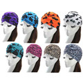 Luck Dog New Multifunctional Turban Ear Cap Beauty Big Satin Bonnet Beautiful