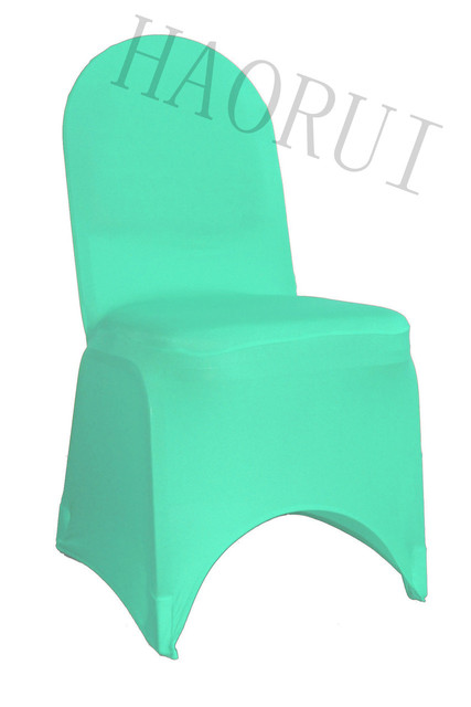 100pcs Stret Mint Green Dining Banquet Party Chair Cover Spandex For  Wedding Decoration Elegant Universal