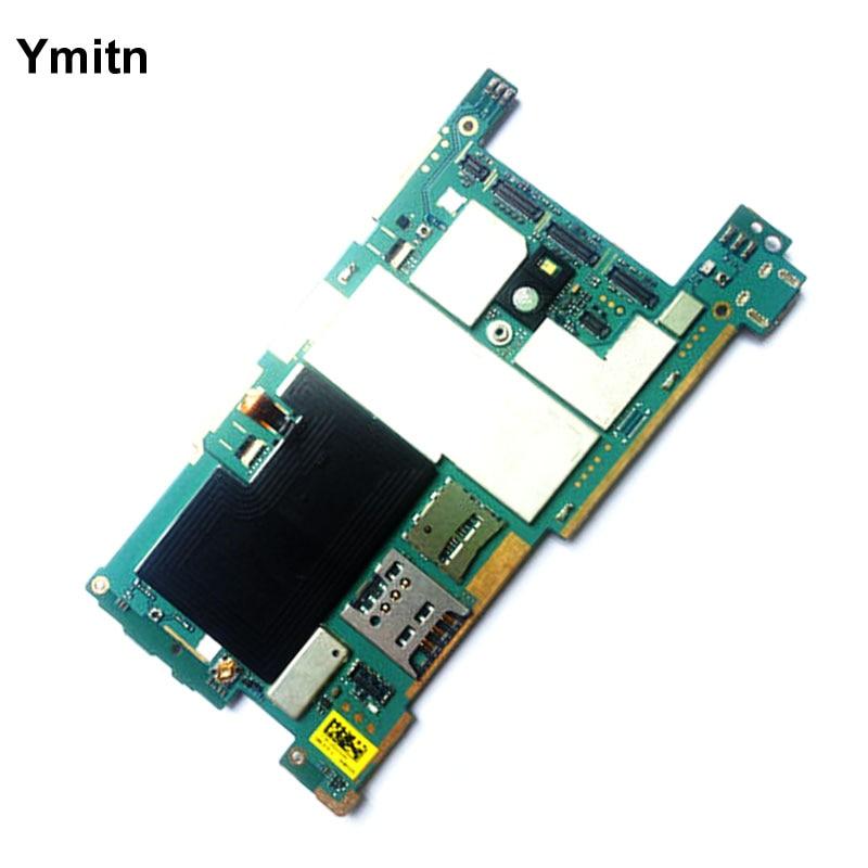 Ymitn débloqué Mobile Électronique panneau carte mère Carte Mère Circuits Flex Câble Pour Sony Xperia SP C5302 C5303 C5306 M35H