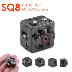 SQ8 Mini DV Secret Camera Espia HD 1080P Wearable Video Voice Camcorder Night Vision Motion Detection Sensor Micro Bike Body Cam(China)