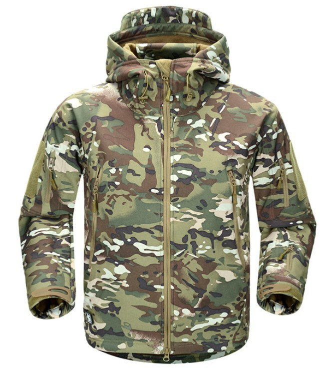Engranajes TAD Softshell táctico camuflaje al aire libre de la chaqueta Army Men Sport caza impermeable ropa Jacket táctica militar