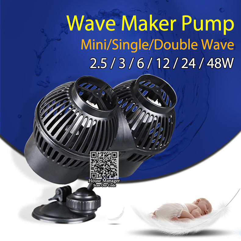 Aquarium wave maker water pump for aquarium marine for Fish tank wave maker