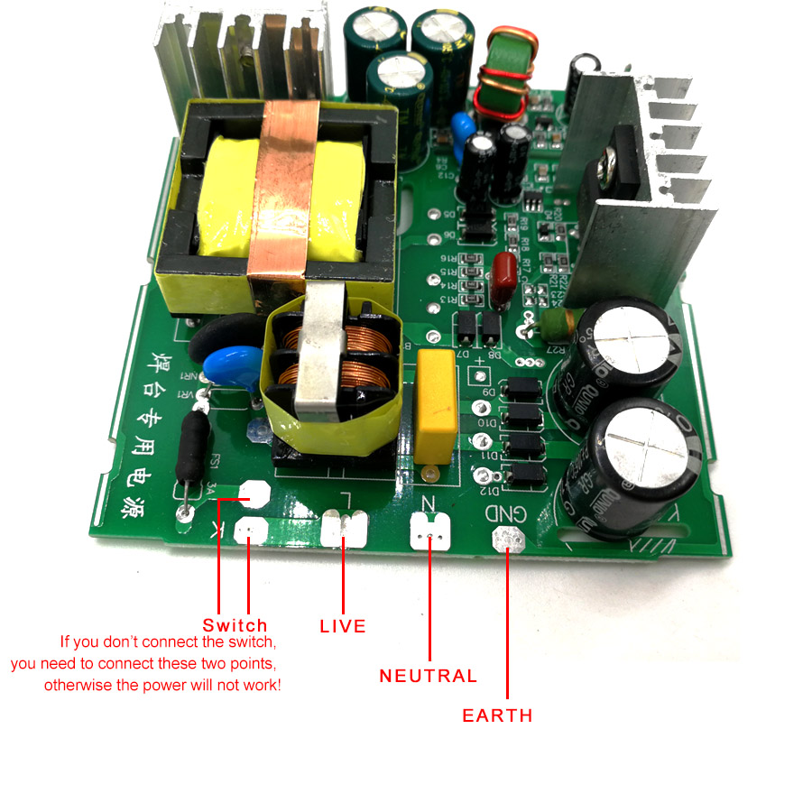 OLED Kits Handle Soldering Vibration DIY Switch Temperature 9501 Station With Digital Controller T12 STC Version New QUICKO