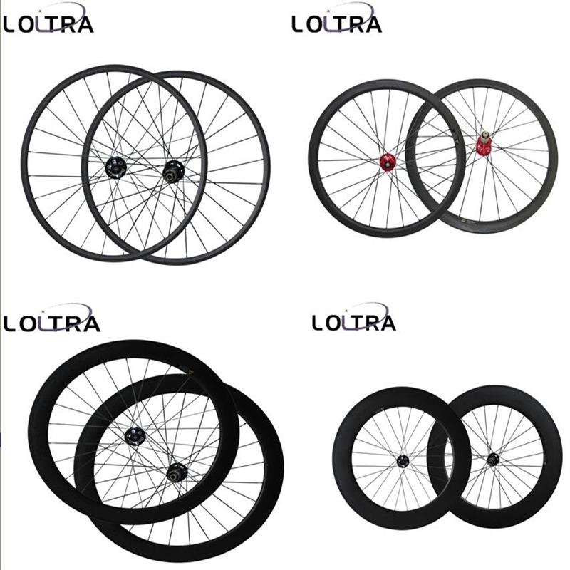 23mm Largeur Disque de frein 6 Boulon carbone Cyclocross roues 38/50/60/88mm vélo roues 12x100mm, 15x100mm/12x142mm Axe Traversant