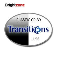 Hoge Kwaliteit Rx Lenzen 1.56 Meekleurende Grijs HMC UV AR CR39 hars brillen recept lenzen bijziendheid//presbyopie/astigmatisme