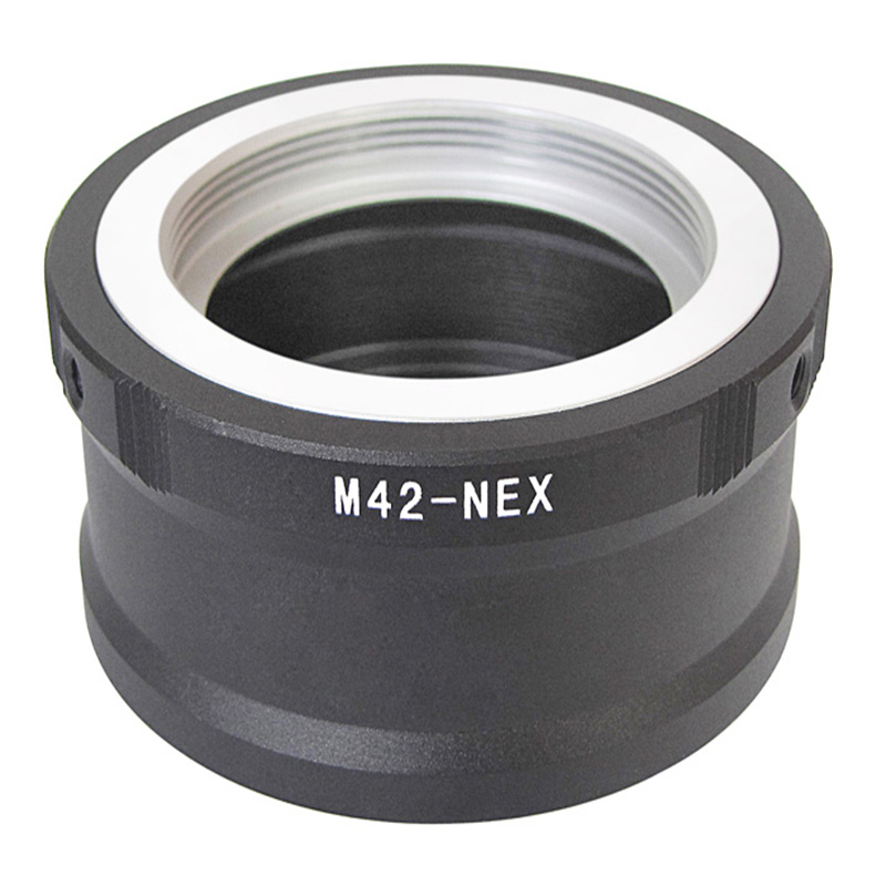 Foleto Lens Mount Adapter Ring M42-NEX For M42 Lens SONY NEX E Mount NEX3 NEX5 NEX5N NEX7 NEX-C3 NEX-F3 NEX-5R NEX6 Camera artwood artwood set01 macassar