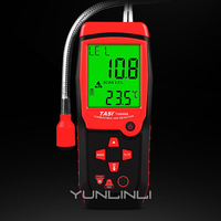 Detector de Gás combustível Detector de Vazamento de gás de Alarme Detector de Vazamento de Gás Natural para Uso Doméstico Portátil TA8406|Analisadores de gás| |  -