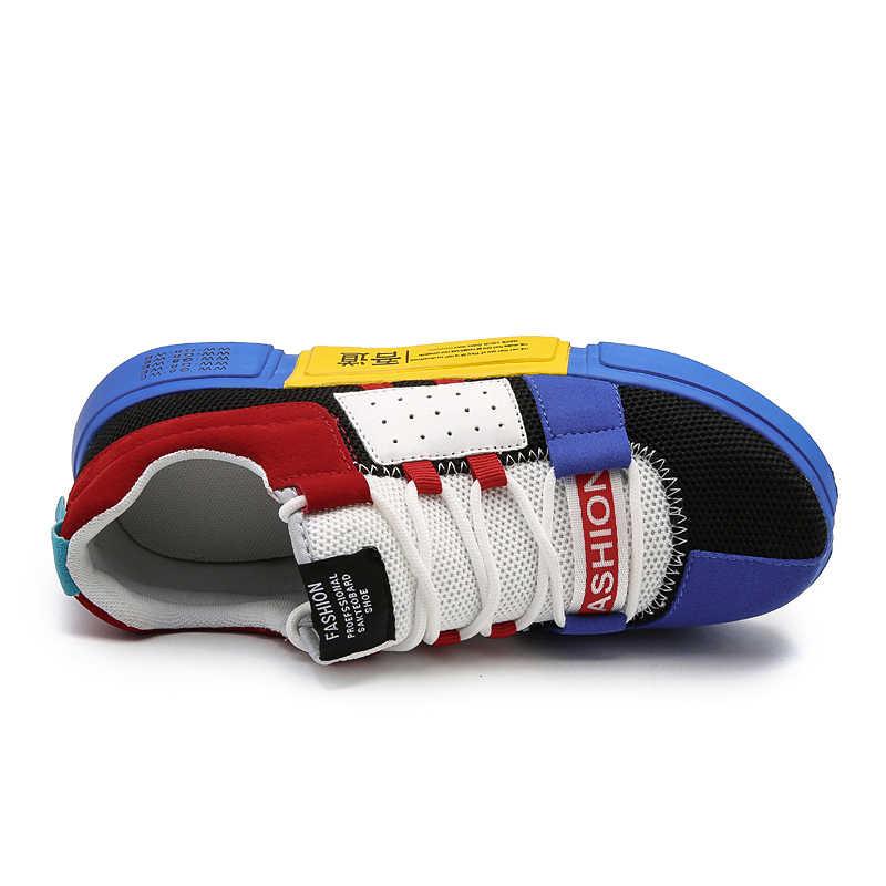 2018 мужская повседневная обувь Zapatos De Hombre дышащая мужская обувь Tenis уличные кроссовки Homme Lovers обувь Heren Schoenen