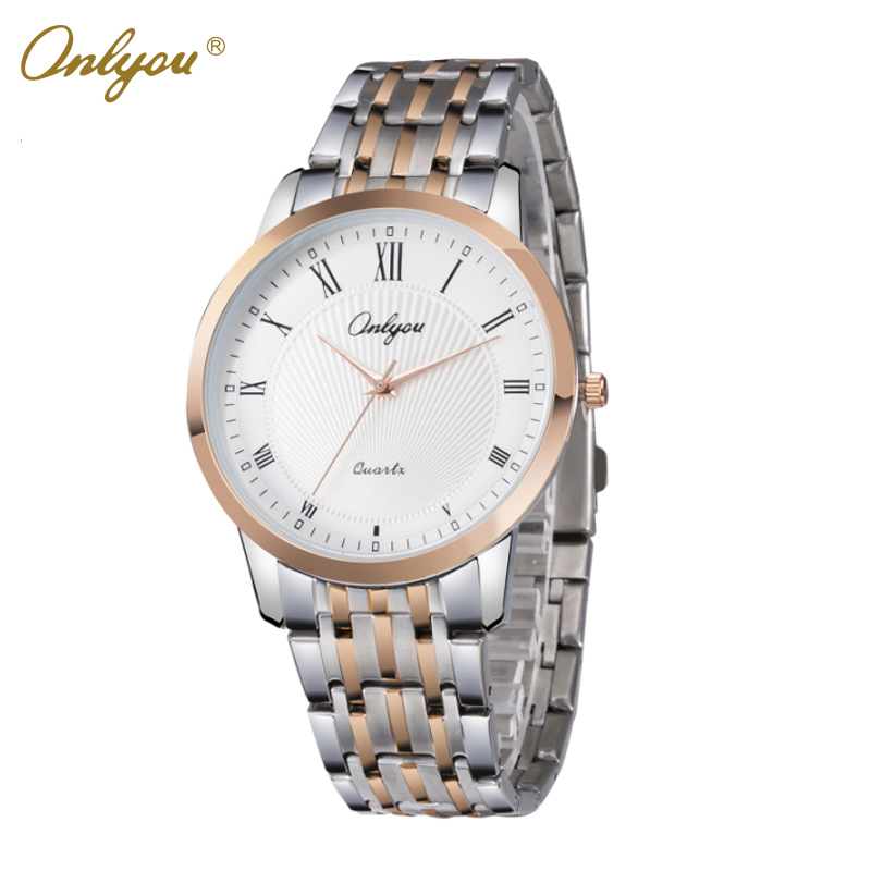 Onlyou Brand Luxury Watches Women Men Business Quartz Watch Stainless Steel Watchband  Ladies Dress Watch Clock Boss Watch 8886 onlyou brand luxury watches womens men quartz watch stainless steel watchband wristwatches fashion ladies dress watch clock 8861