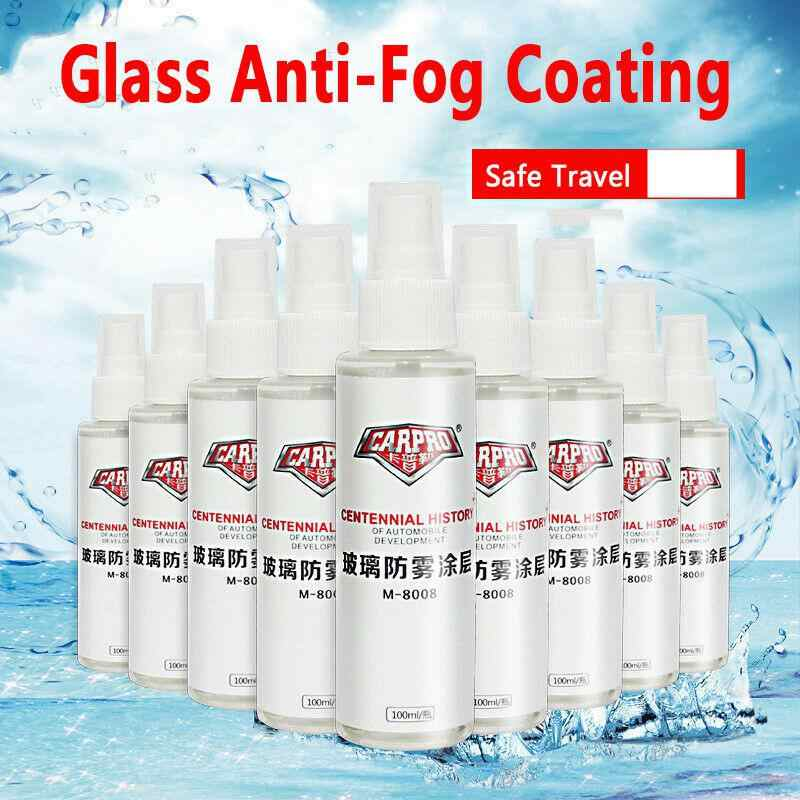 Limpiador de ventana de coche de acción larga Anti-niebla espejo de parabrisas