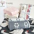 6 layerMuslin manta swaddle de bebé de Algodón 100% Toalla de Baño Suave para Bebés Recién Nacidos Swaddle Manta Funciones Abrigo Del bebé del bebé toalla de baño
