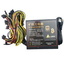 T F SKYWINDINTL 1600W PSU Power Supply For Computer 6 Video Card Mining Bitcoin Miner 1600W