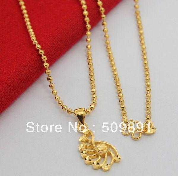 Aliexpresscom Buy NEC1507 Hot Sale Gold Beads Chain Unique