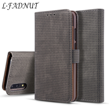 L-FADNUT For Huawei P20 Lite Case P20 P30 Lite Elegant Business Vintage Flip Stand Wallet Leather Cases For Huawei Mate 20 Pro