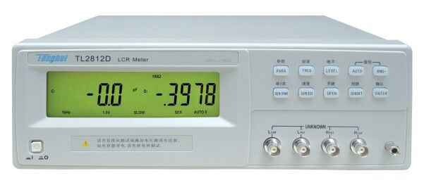Fast arrival TONGHUI TL2812D LCR Meter Basic Accuracy 0.25% Test signal frequency 100Hz, 120Hz, 1kHz, 10kHz