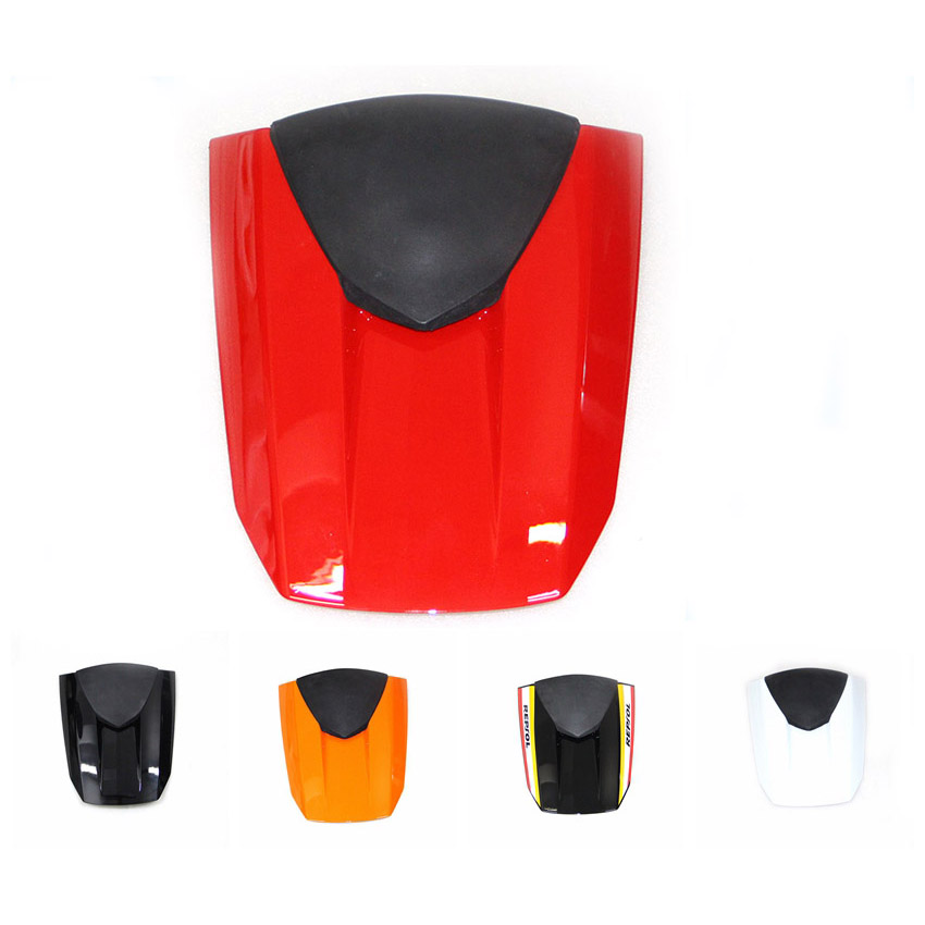 Motorcycle ABS Rear Passenger Seat Cowl Cover For Honda CBR600RR F5 2013-2017 for honda cbr500r 2013 2014 motorbike seat cover cbr 500 r brand new motorcycle orange fairing rear sear cowl cover