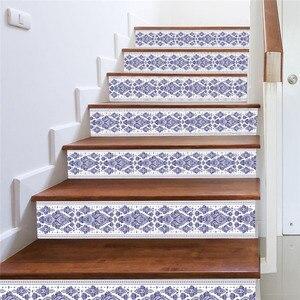 Image 4 - 3D sztuczna na schody naklejki wodoodporna ściana naklejki dekoracje dla domu DIY dekoracja pokoju vinilos decorativos para paredes nowy