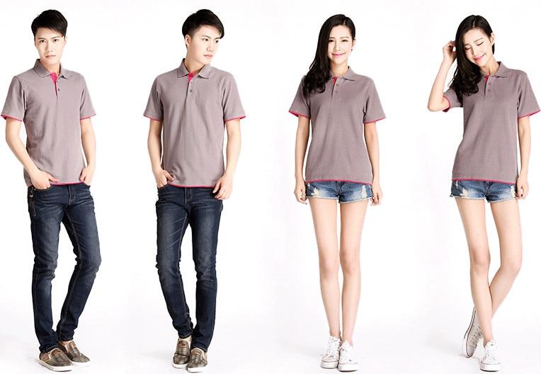 Brand New Men's Polo Shirt High Quality Men Cotton Short Sleeve shirt Brands jerseys Summer Mens polo Shirts 35