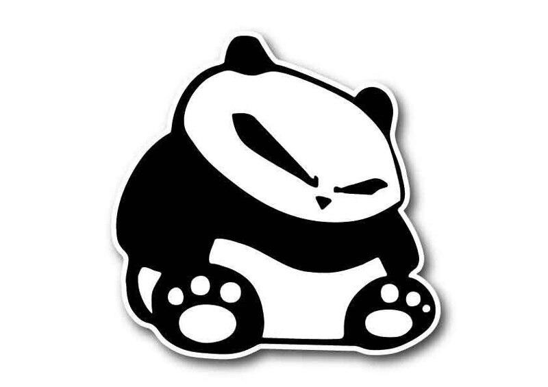 50 pcs  lot angry evil panda sticker vinyl adesivos para jdm logistics llc jdm logistics llc