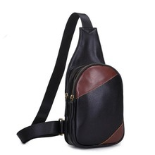 2017 Famous Designer Purses and Handbags Men s Leather Vintage Shoulder Messenger Unbalance Sling Chest Bag