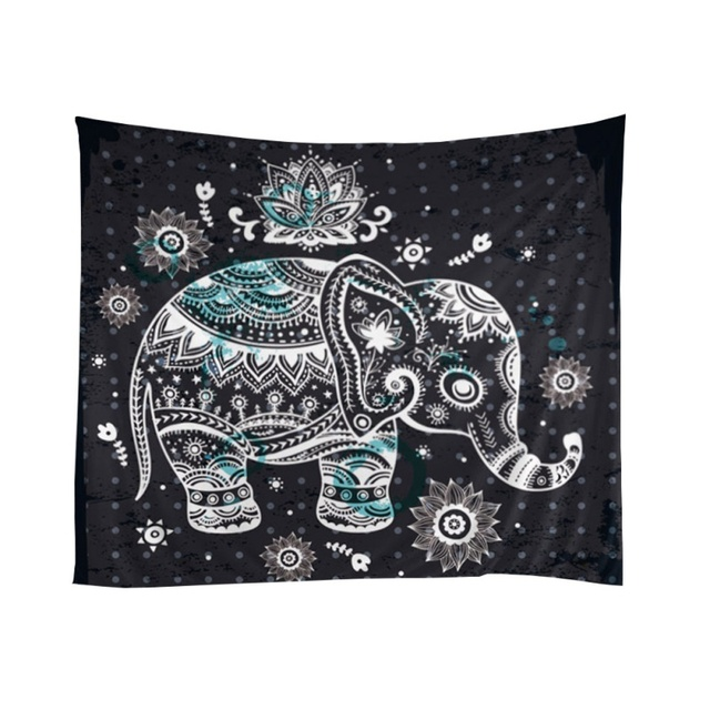 Elephant Hippo Batik Paintings