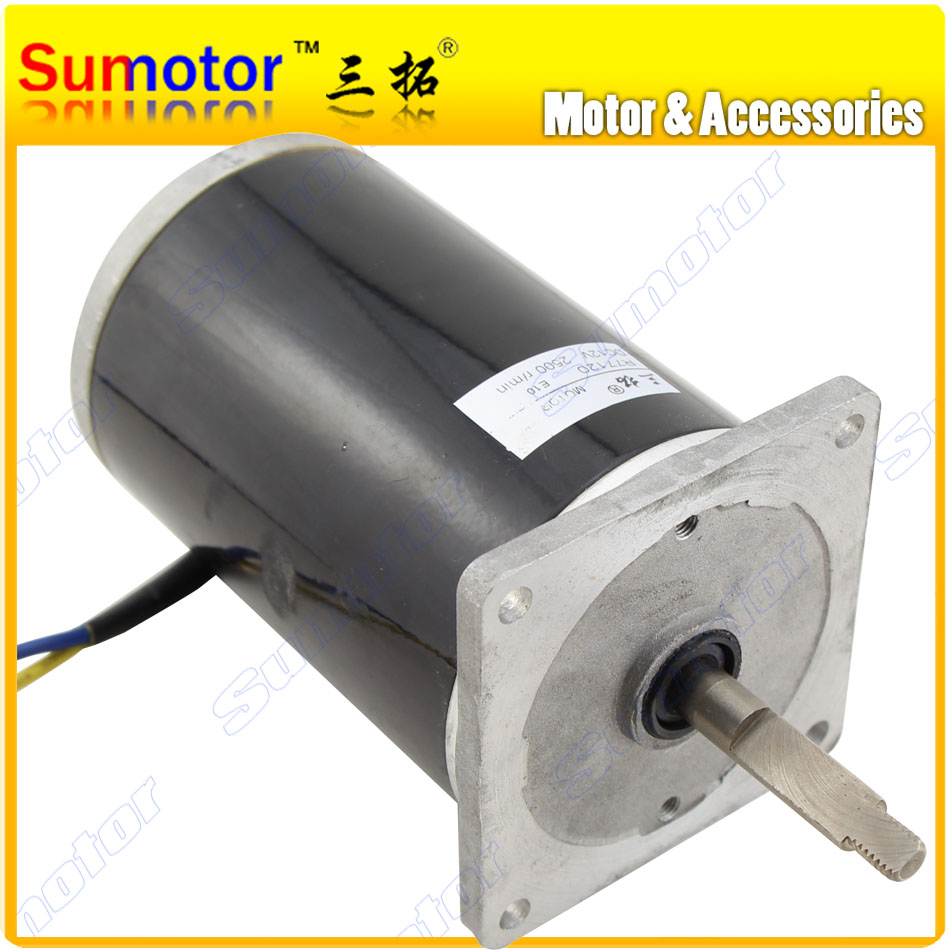 R77120 1700rpm DC 12V 100W High speed Electric motor High torque engine Reversible for Manure spreader Ship Robot boat car model dc 24v 30w high torque gear reducer dc motor eletric machinery for industry machine reversible adjustable speed optional