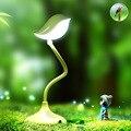 Творческий Милые Птицы настольная лампа С Регулируемой Яркостью 360 Градусов Регулировка С USB DC5V 500MA Литиевая Батарея Свет Рабочий Стол